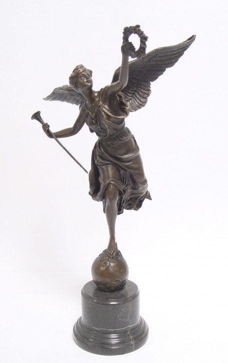Bronzefigur The Winged Victory 40,2x15x22,5cm