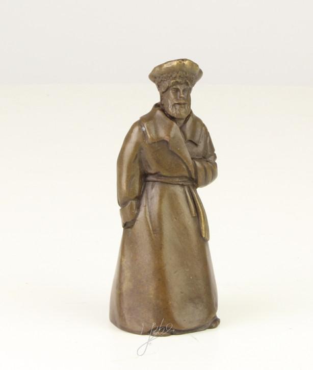 Bronzefigur Tischglocke Man 9,7x3,9x4cm