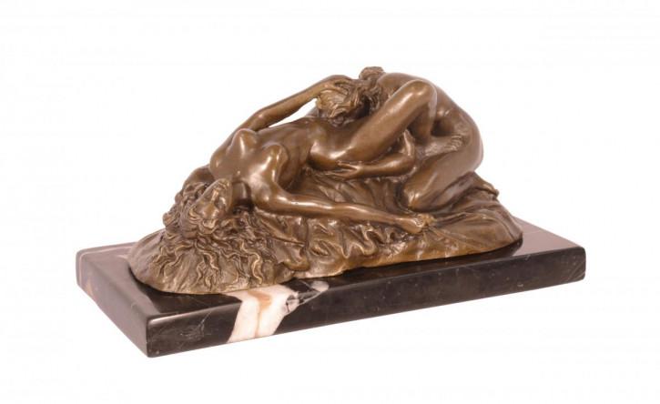 Erotische Bronzefigur Sculpture 9,7x10,7x20,7cm