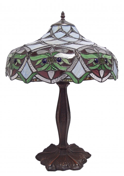 Tiffany Tischlampe 59 X 41,5 Cm.