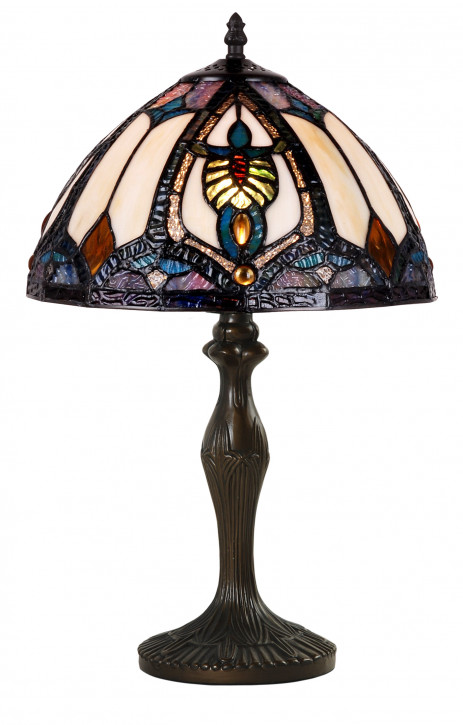Tiffany Tischlampe 48xØ31cm