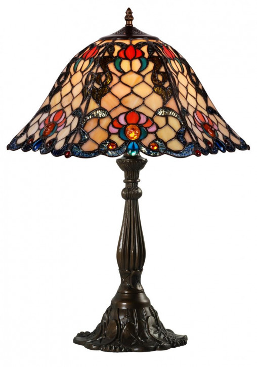 Tiffany Tischlampe 61x39,5xØ44,5cm