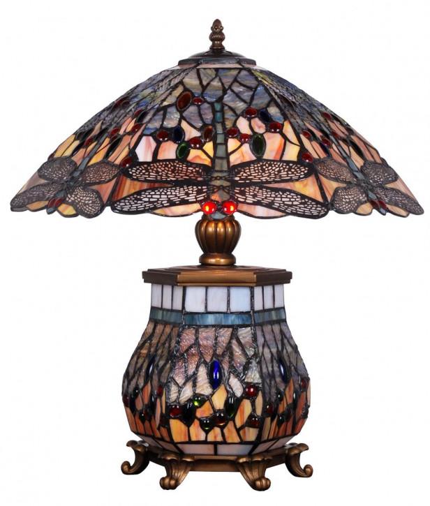 Tiffany Tischlampe 55x42x46,5cm