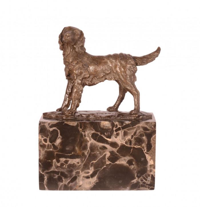 Bronzefigur Dog 16x12,5cm