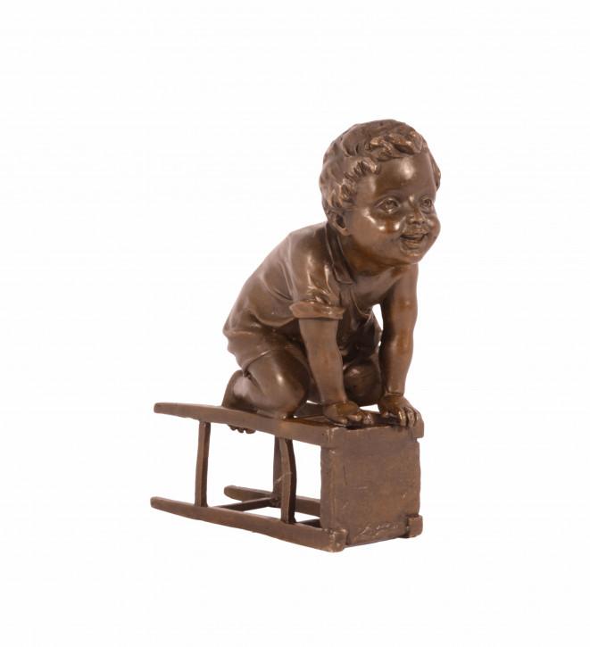 Bronze The Acrobat H: 15 Cm.