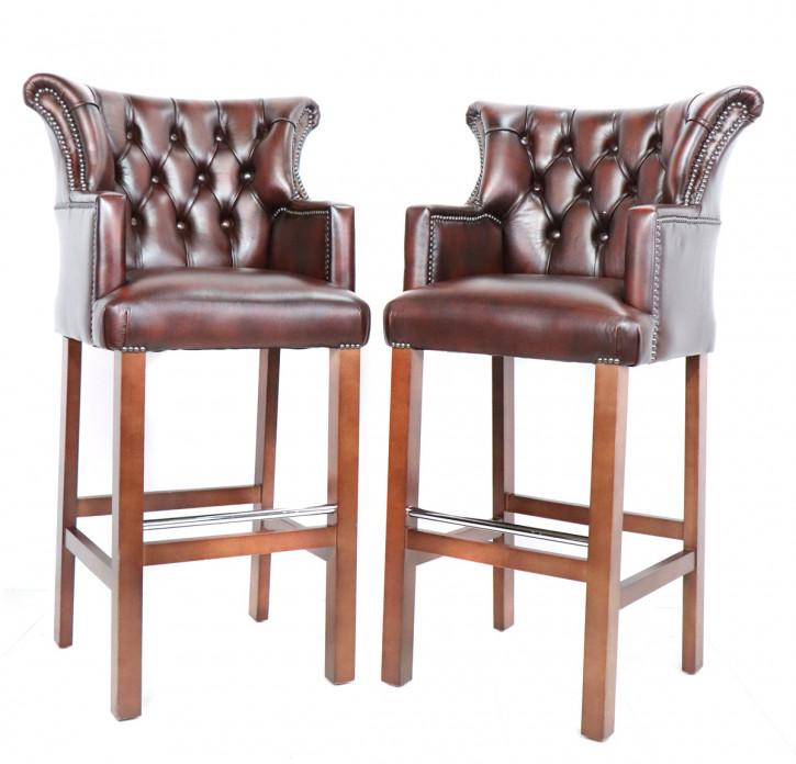 """Blackstone Bar Chair"" Chesterfield Barhocker"