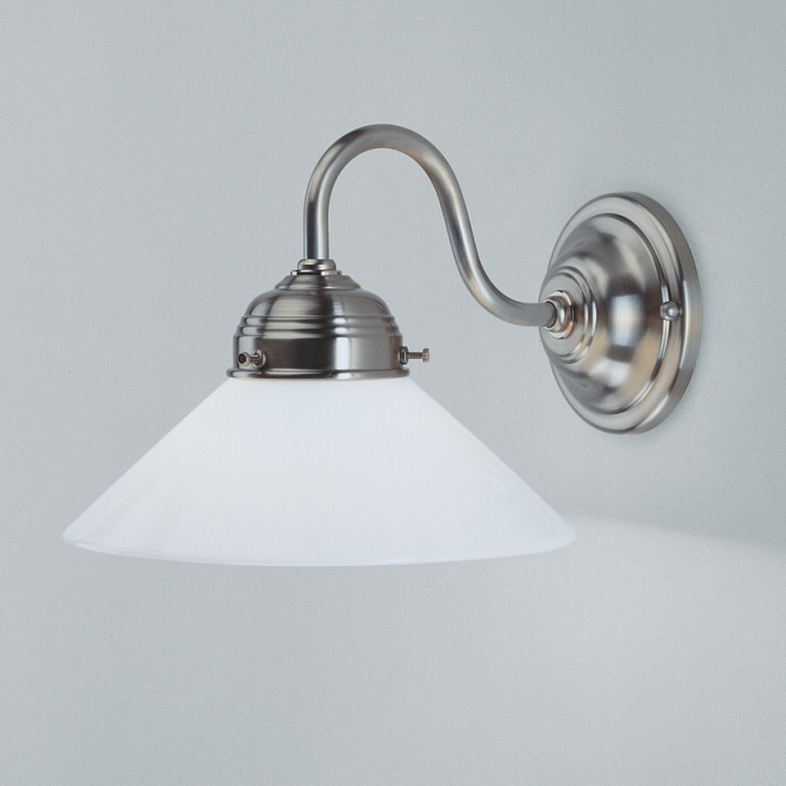 Wandlampe A7 in Nickel matt