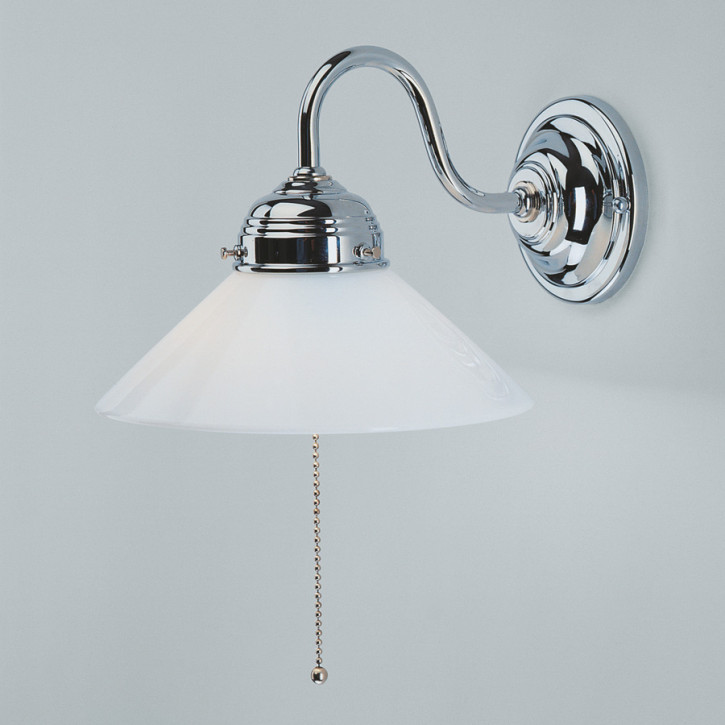 Wandlampe A8 in Chrom