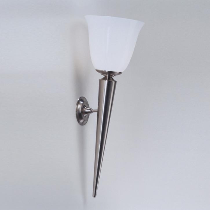 Wandlampe A95 in Nickel matt