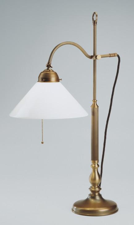 Schreibtischlampe C1 in Berliner Messing