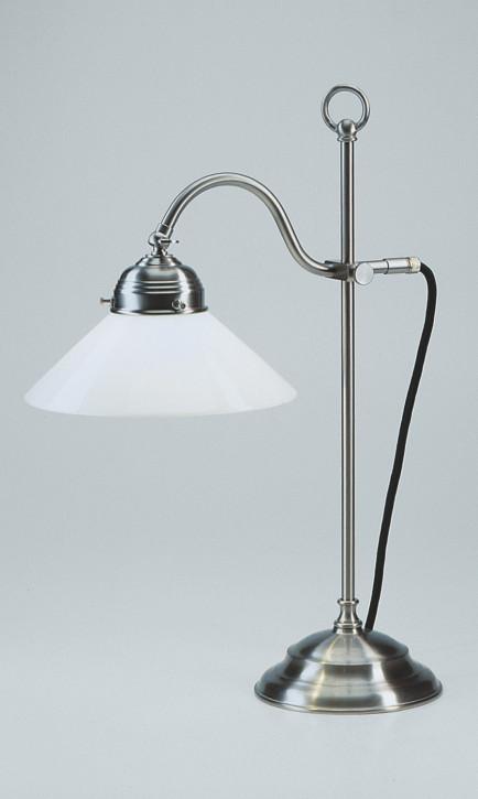 Schreibtischlampe OG9 in Nickel matt
