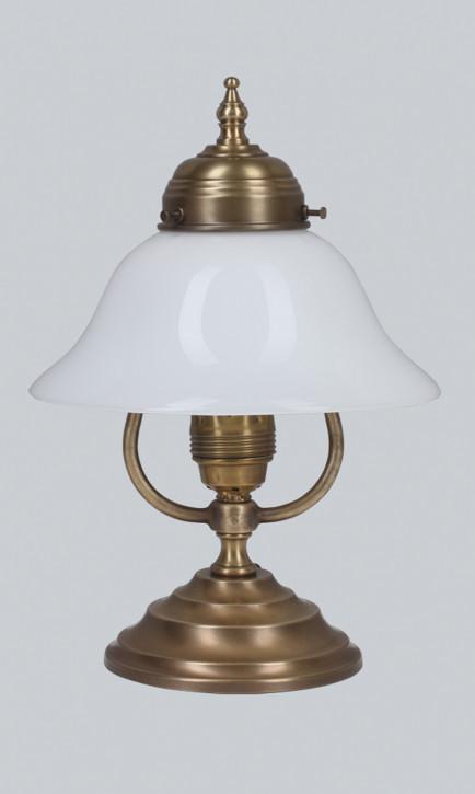 Nachttischlampe V20 in Berliner Messing