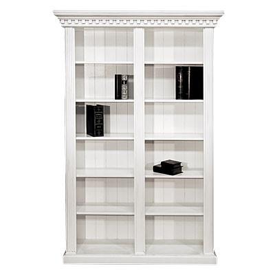 Bücherschrank II Shining White 145x45x220