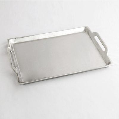 Ablage Rechteckig Groß Silber 42x30