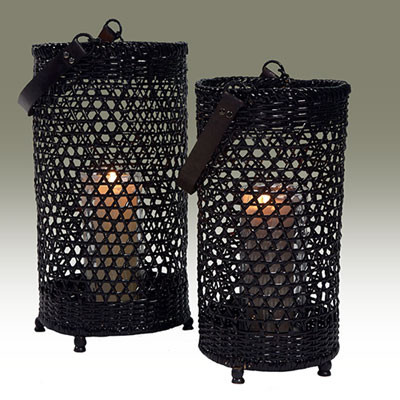 Kerzenhalter Zweierset D25 H45