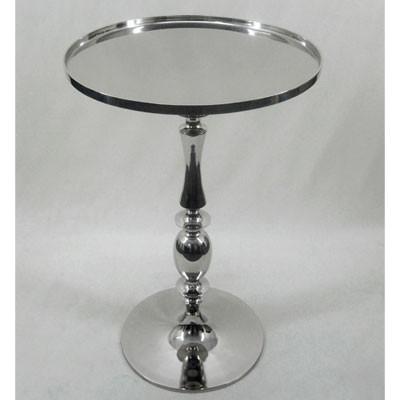 Moderner Edelstahl Tisch kleiner Tisch Beistelltisch 70cm