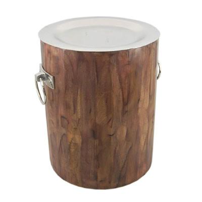 Holz Tisch Alu Top D38 H46