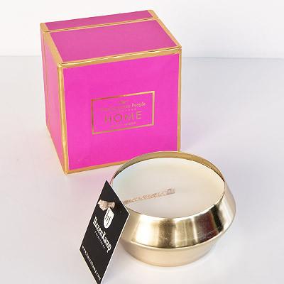 Kerze im Glas in Geschenkbox mit 190g Wachs