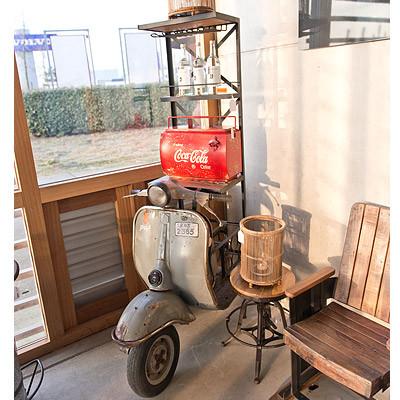 Weinregal Roller 70x105x185