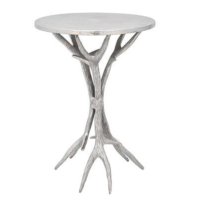 Tisch Stuhlassistent Geweih 35x35x54cm