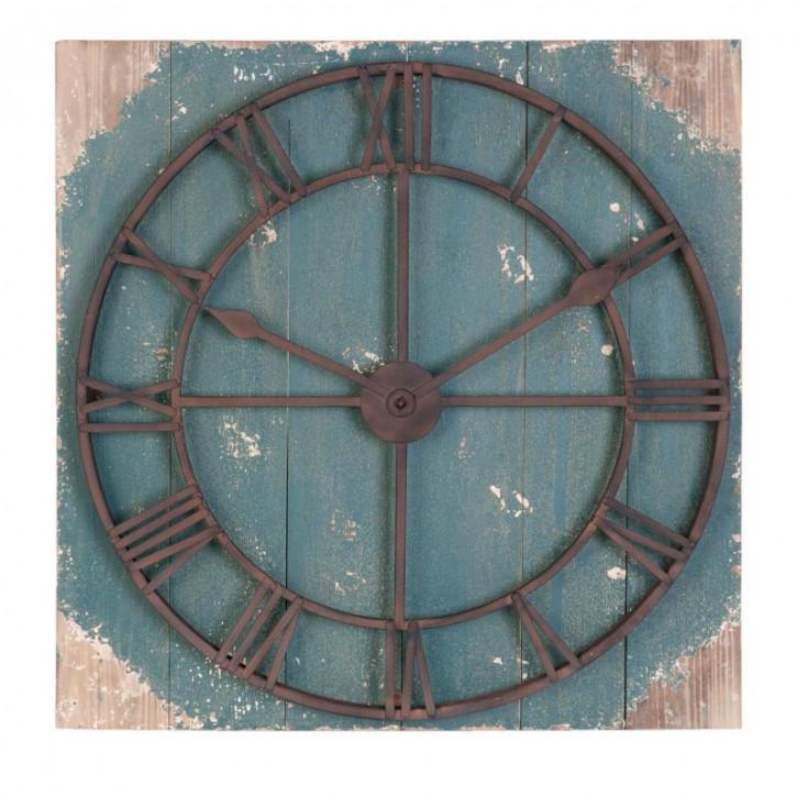 Wandschild Uhr Attrappe ca. 86 x 8 x 86 cm
