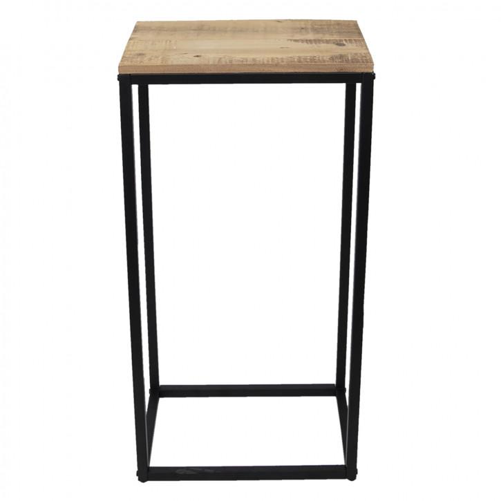 Wandtisch reclaimed wood 40x27x81 cm