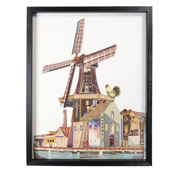 Bild Windmühle 64x4x82 cm