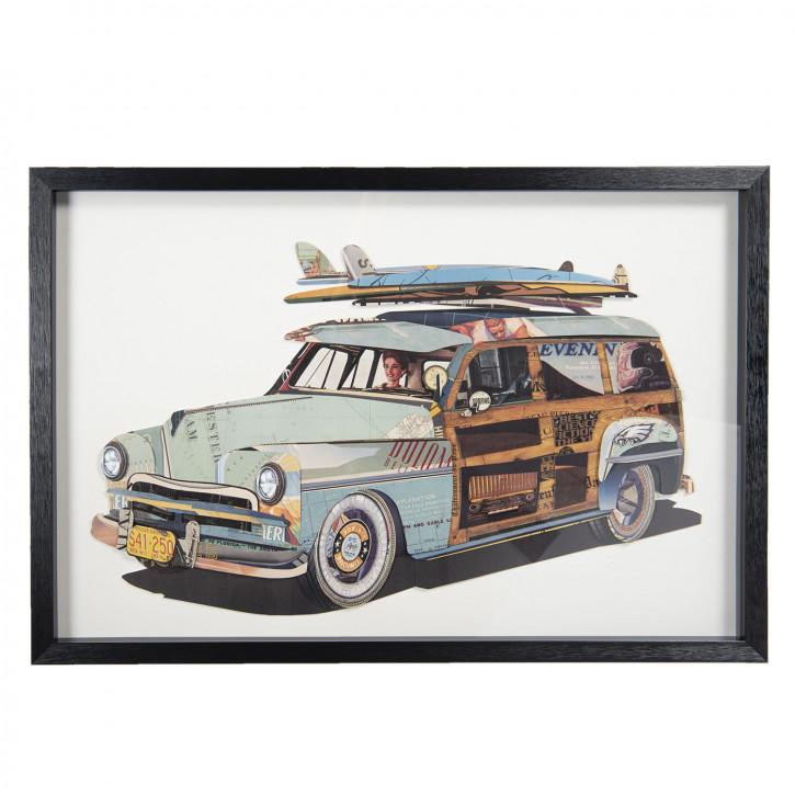 Gemälde 90x4x60 cm