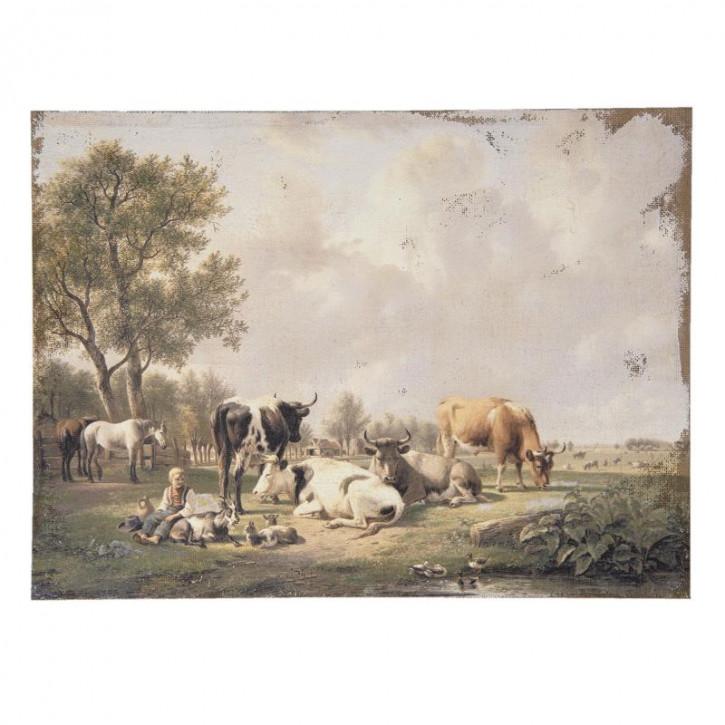 Gemälde 73x3x55 cm
