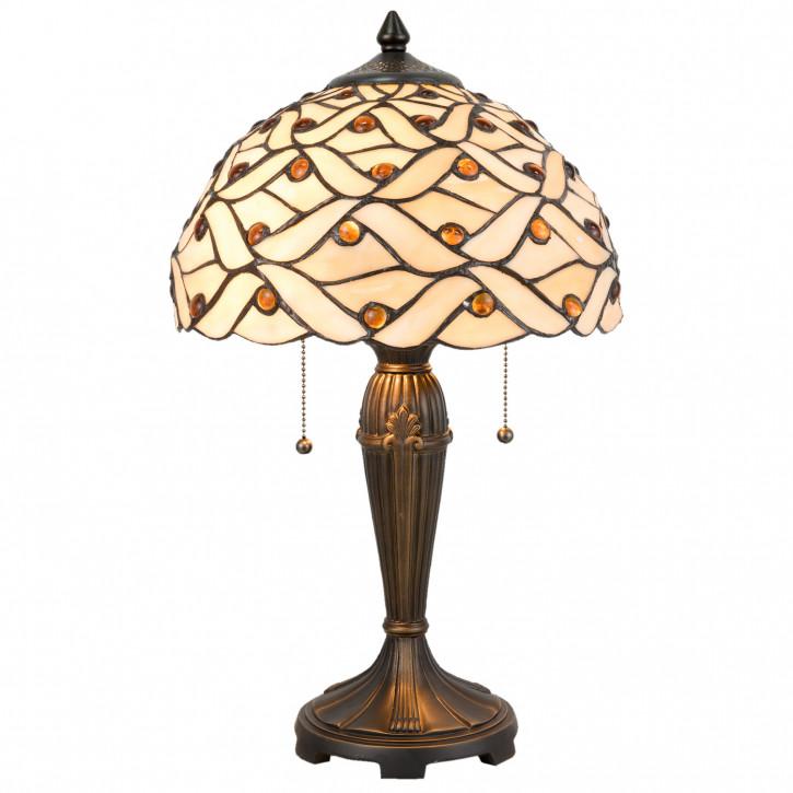 Tischlampe Tiffany Ø 30x50 cm E27/max 2x40W