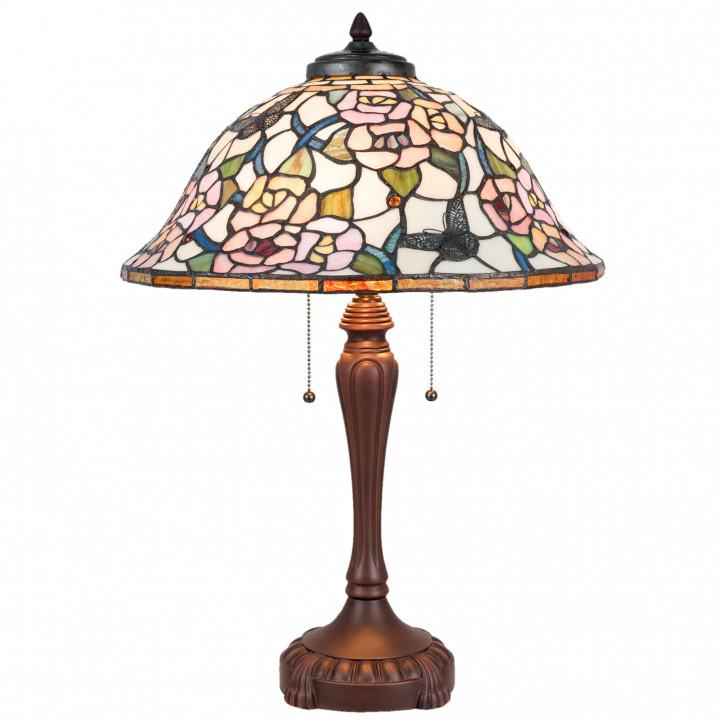 Tischlampe Tiffany Ø 46x65 cm E27/max 3x60W