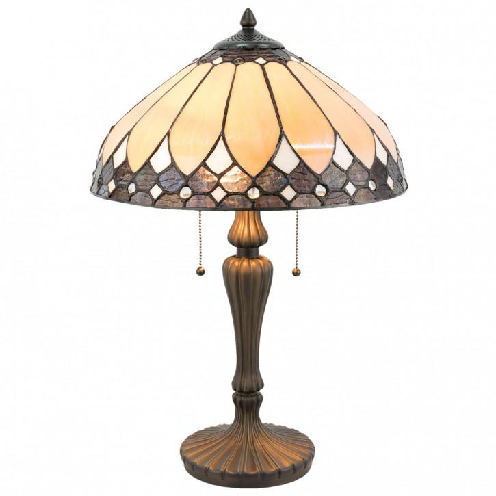 Tiffany Tischlampe komplett 40x60 cm 2x E27/60W