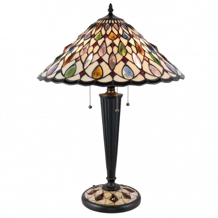 Tiffany Tischlampe komplett 45x61 cm 3x E27/60W