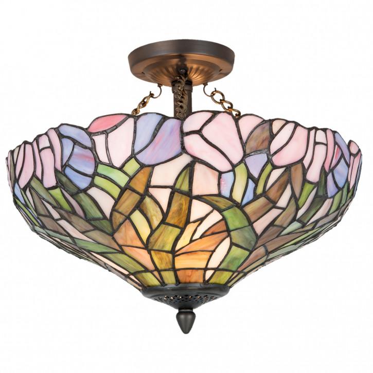 Deckenlampe Tiffany Ø 41x33 cm 2x E27 max 60w