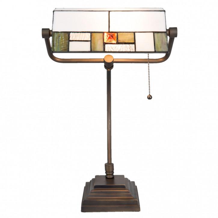 Tiffany Schreibtischlampe 30x51 cm 1 x E27 max, 60w,