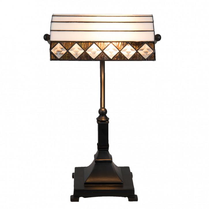 Tiffany Schreibtischlampe 22x9x43 cm