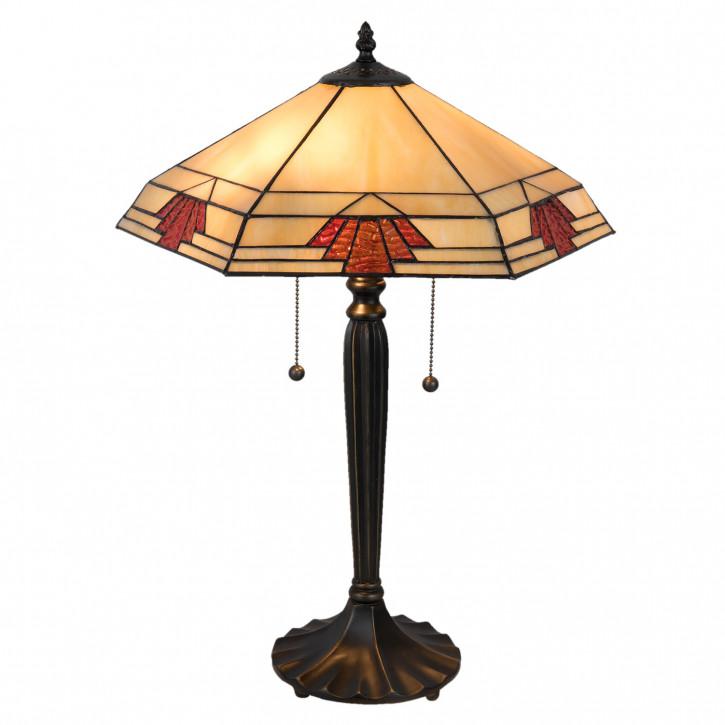 Tischlampe Tiffany 44x38x59 cm E27/max 2x60W