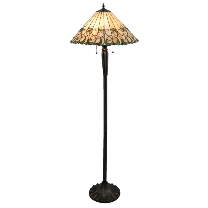 Stehlampe Tiffany Ø 52x160 cm E27/max 1x60W