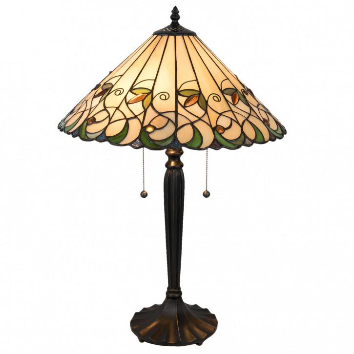 Tiffany Tischlampe komplett 43x43x60 cm