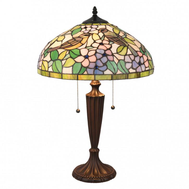 Tiffany Tischlampe komplett 41x41x59 cm