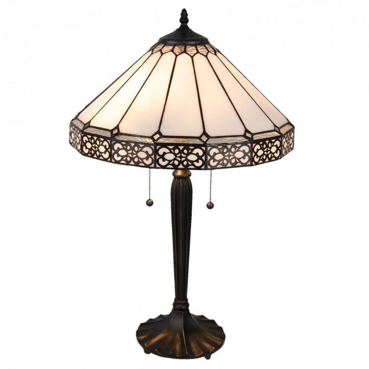 Tischlampe Tiffany Ø 41x62 cm E27/max 2x60W