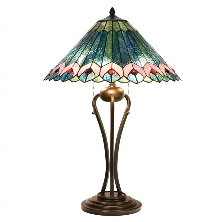 Tischlampe Tiffany Ø 48x73 cm