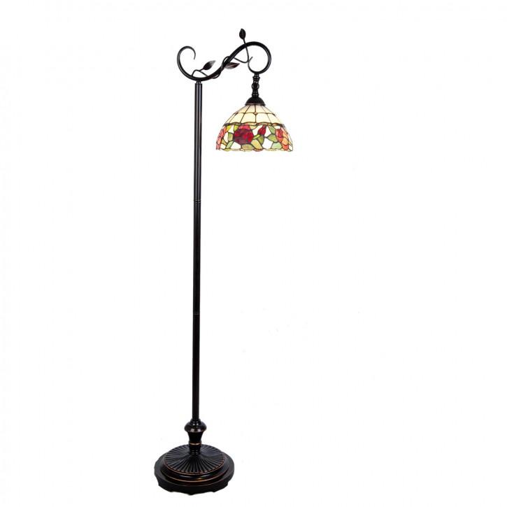 Stehlampe Bodenlampe Tiffany-Stil ca. Ø 25 cm