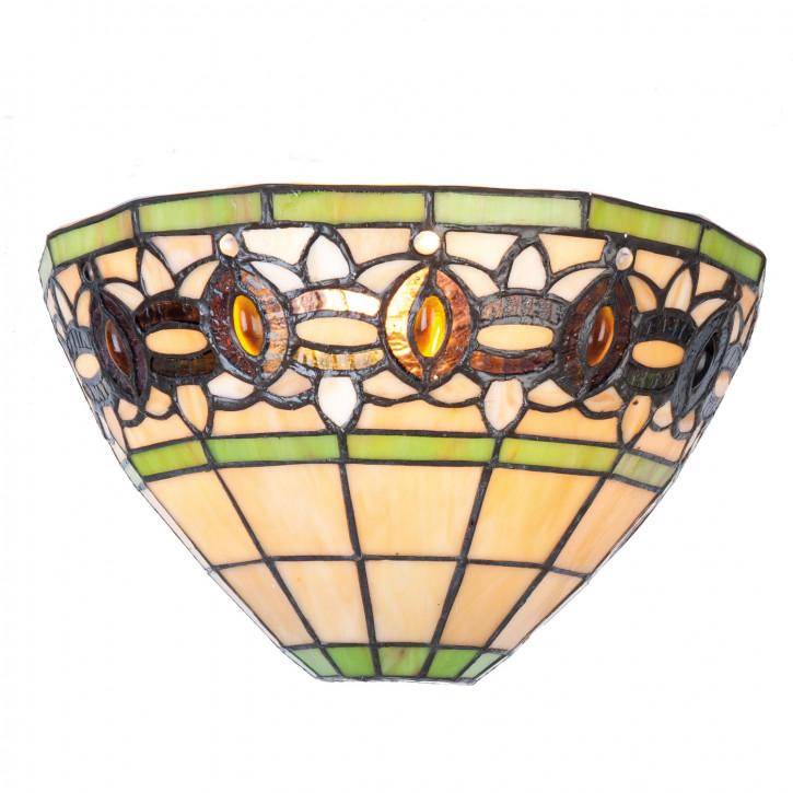 Wandlampe Tiffany-Stil