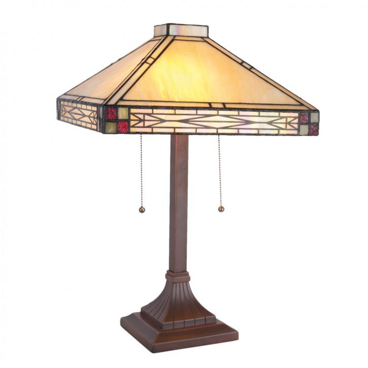 Tiffany Stehlampe Xanten 36x36x55 cm