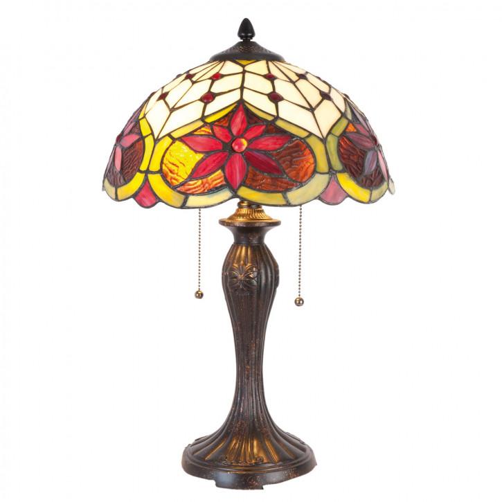 Tiffany Stehlampe York 35x56 cm