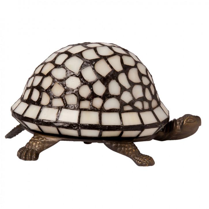 Tiffany Dekolampe Schildkröte Tischlampe 22x15 cm