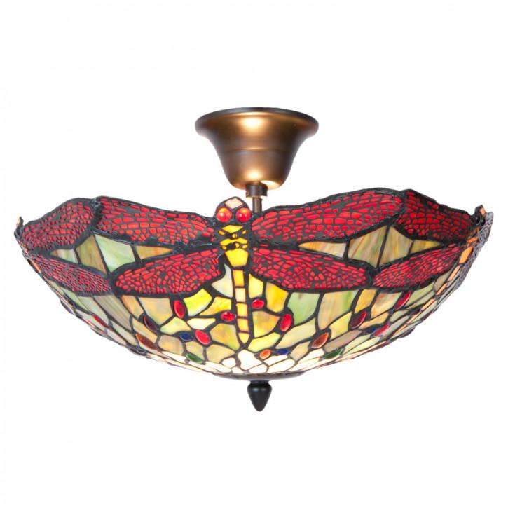 Tiffany Deckenlampe Peking Ø 41x24 cm