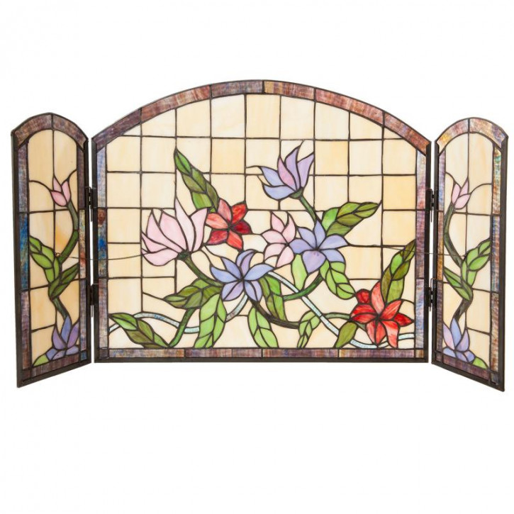 Tiffany Fenster Kamin Lucca 91x51 cm