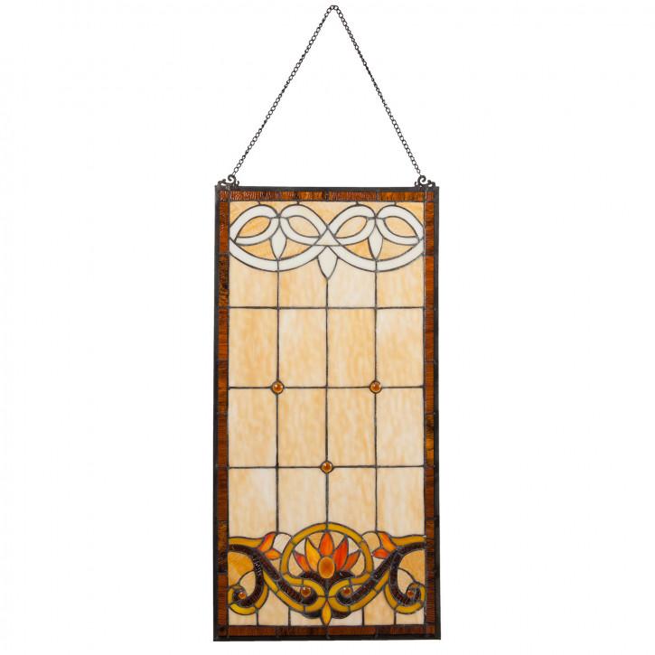 Tiffany Fenster Luzern 80x40 cm